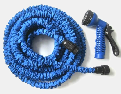 how to connect two expandable garden hoses