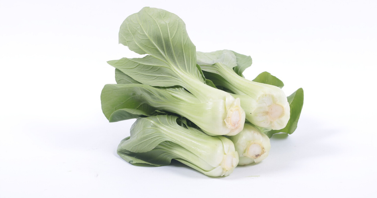 Bok choy is a great addition to your healthy recipes.