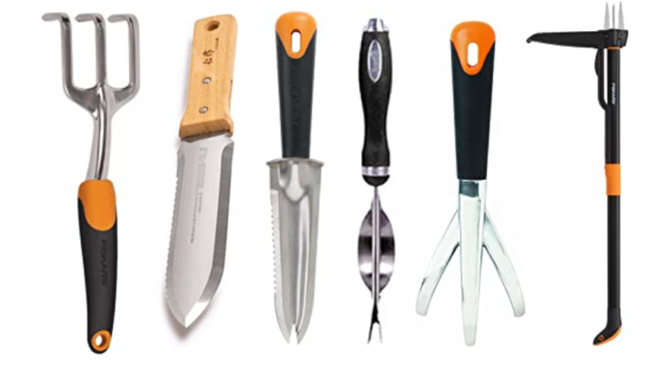 Six best weeding tools.