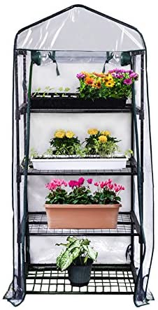 "Gardman R687 4-Tier 27"" L x 18"" W x 63"" H  Mini Greenhouse Review"