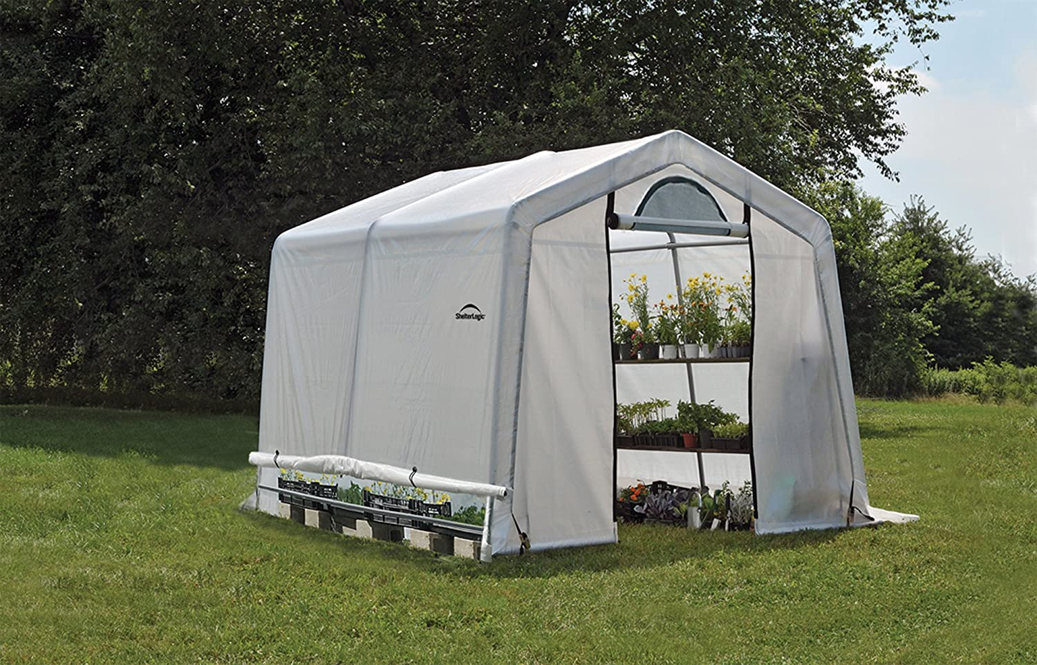 ShelterLogic 6' x 8' x 6.5' GrowIT Greenhouse Review