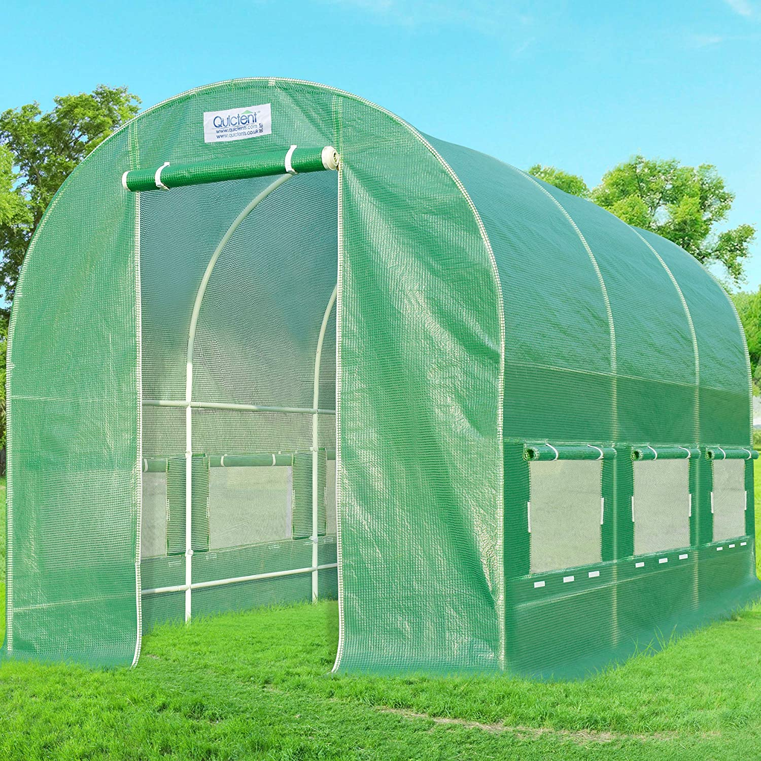 Quictent 12' X 7' X 7' Portable Greenhouse Review