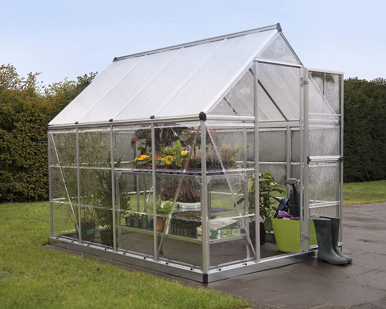 Palram HG5508 Hybrid Hobby Greenhouse Review