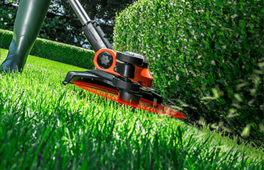 Lightweight trimmer and edger in one.