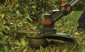 Black & Decker 20V string trimmer and edger in one.