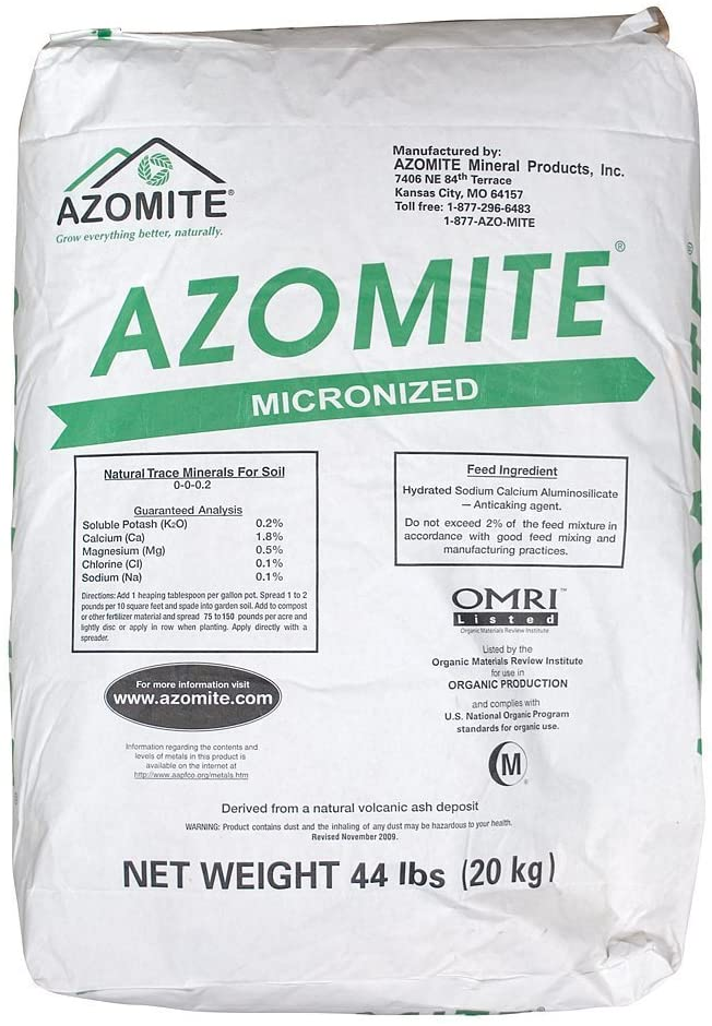 Azomite Micronized Bag Organic Nutrients for Lawn