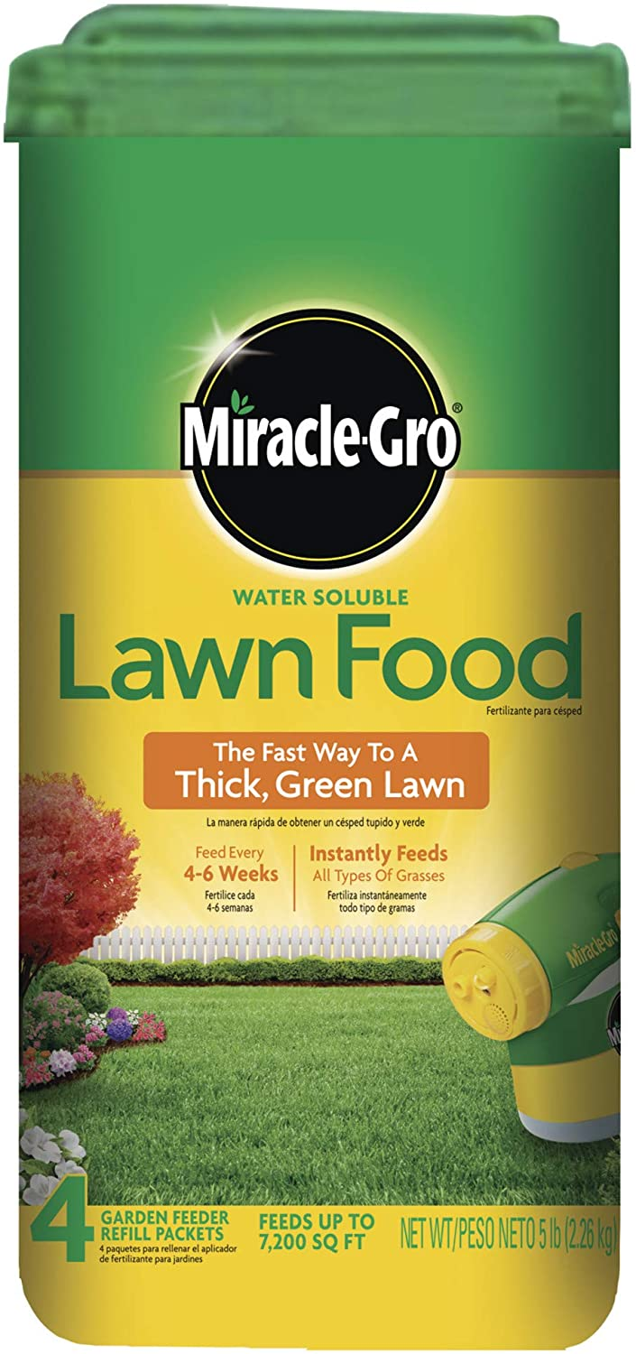 Miracle-Gro Water Soluble All Grass Lawn Food