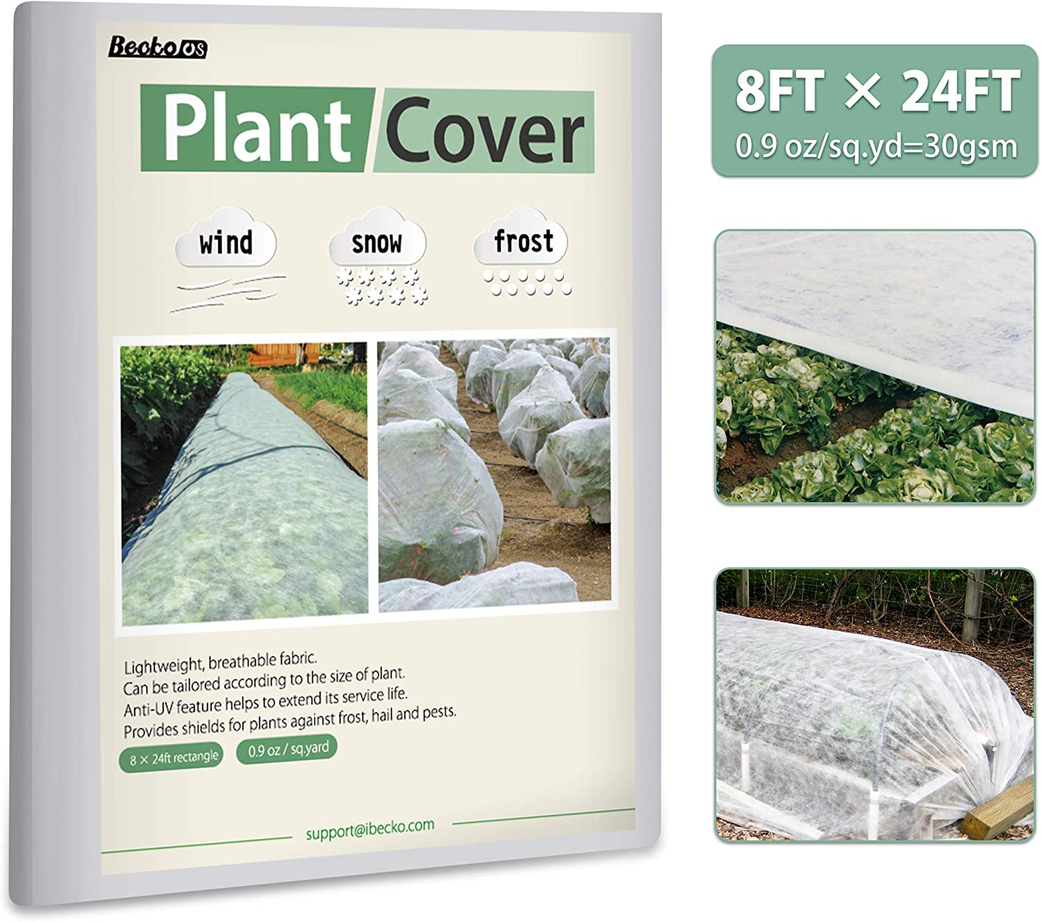 Becko Plant Cover Snow Freeze Protection