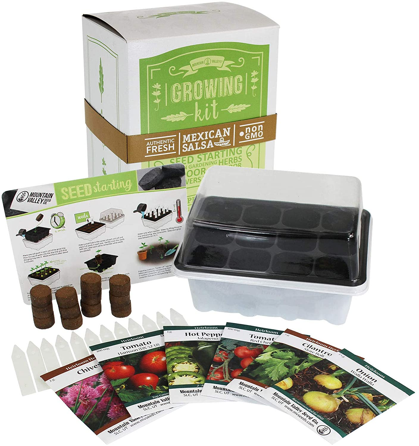 Flowers & Vegetable Garden Starter Kit