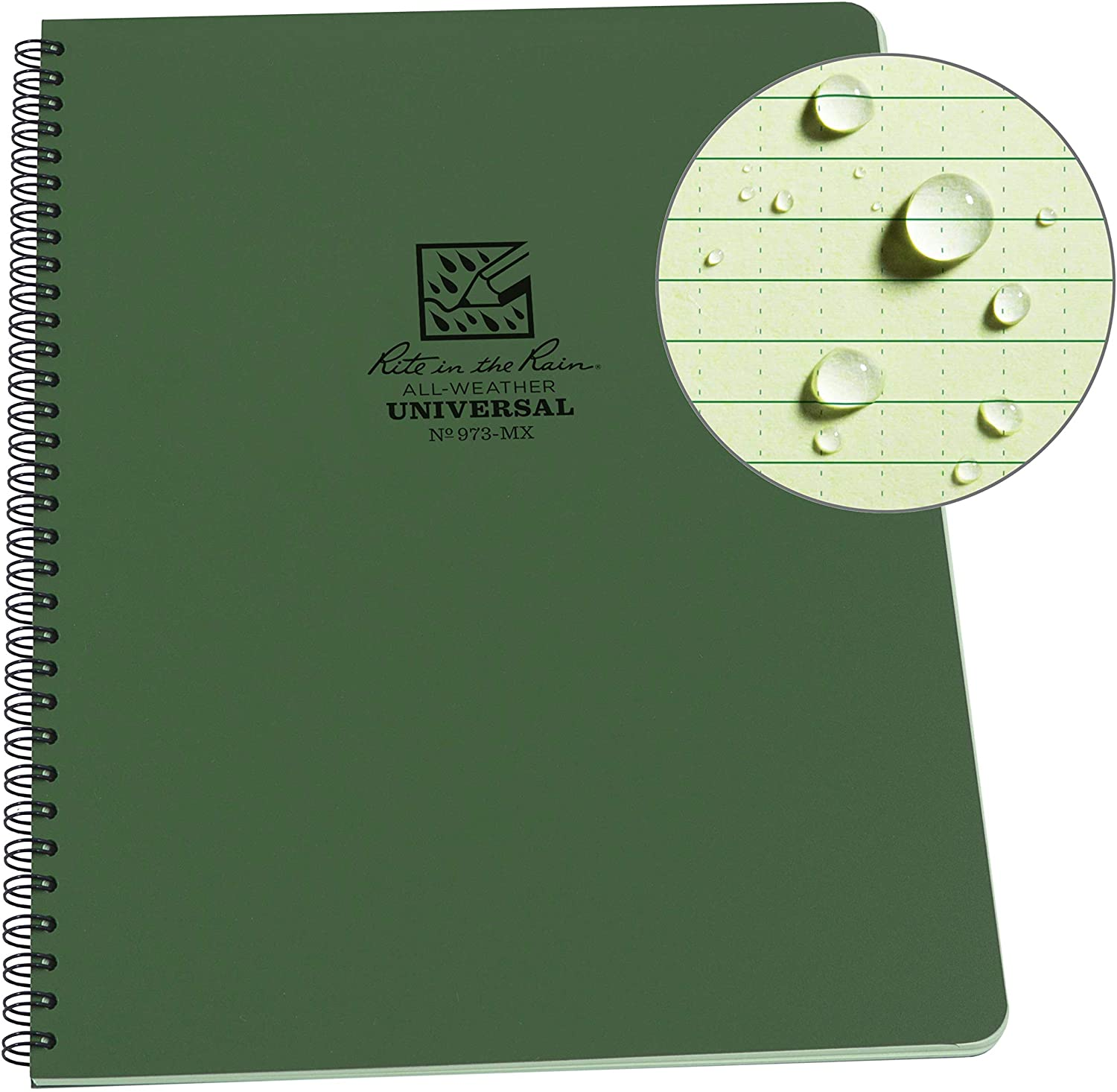 The gardener's weatherproof daily journal