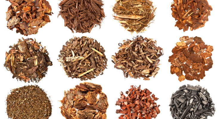 Types of mulches